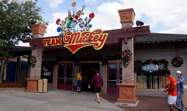 Downtown Disney Team Mickey