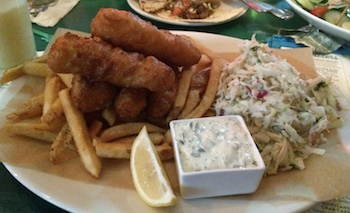 margaritaville fish and chips