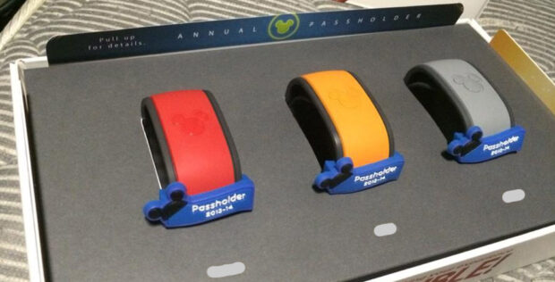 Annual passholder magicbands