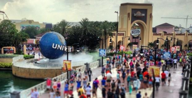enrance to universal studios florida
