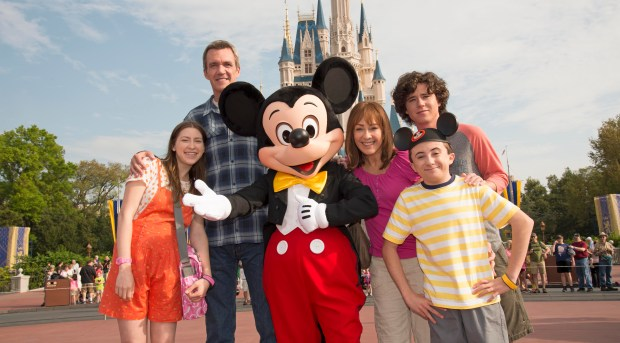 THE MIDDLE TAPES SEASON FINALE AT WALT DISNEY WORLD IN FLORIDA