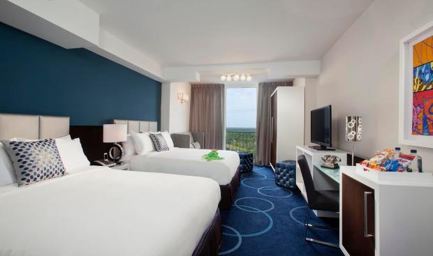 B Resort in the WDW Resort- Tower Guestroom