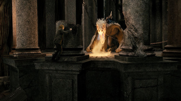 Harry Potter and the Escape from Gringotts dragon