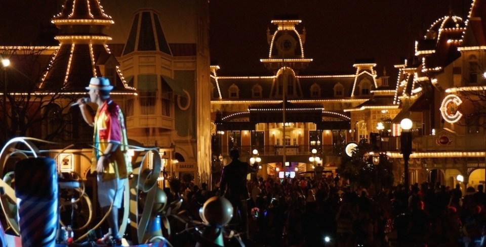 Magic Kingdom 24 hour day DJ party