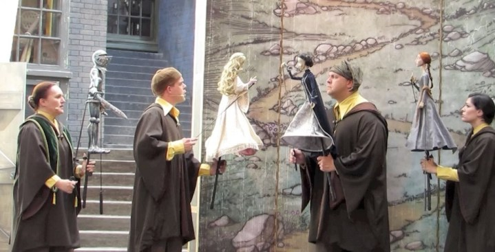 New Beedle the Bard show debuts in Diagon Alley