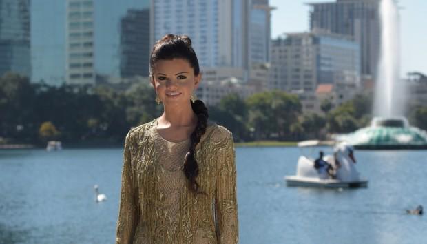 Selena Gomez visits downtown Orlando