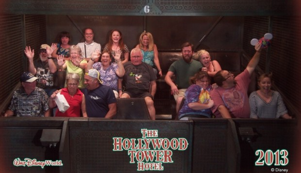 Tower of Terror on-ride photo