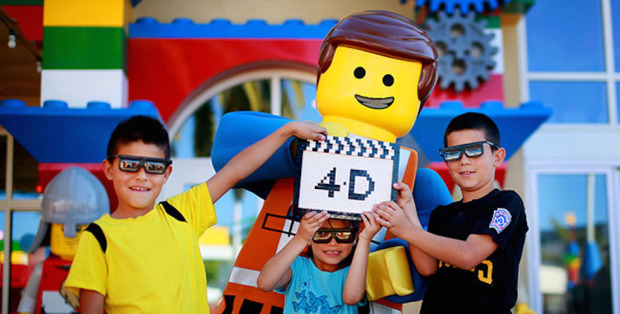 lego 4d movie