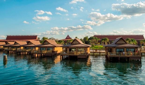 The Bora Bora Bungalows atDisney's Polynesian Villas and Bungalows