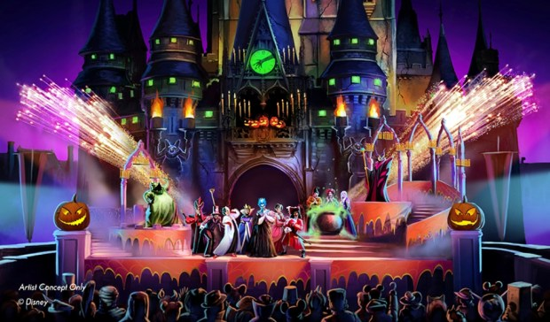 hocus pocus halloween show walt disney world