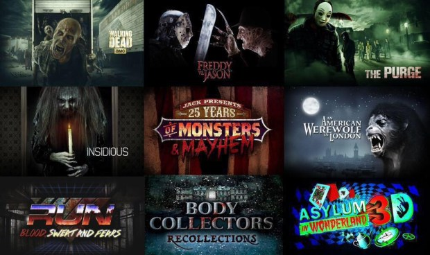 Halloween Horror Nights 25 lineup