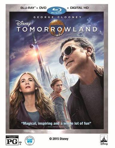 tomorrowland dvd cover