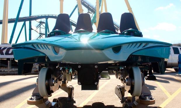 Seaworld Orlando Unveils Custom Coaster Car For Mako