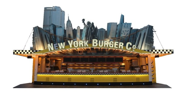 New York Burger Company Themed Restaurant