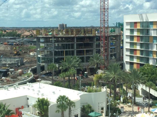 universa's cabana bay resort tower construction