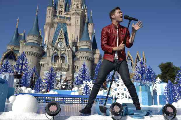 Disney Parks Unforgettable Christmas Celebration Andy Grammer
