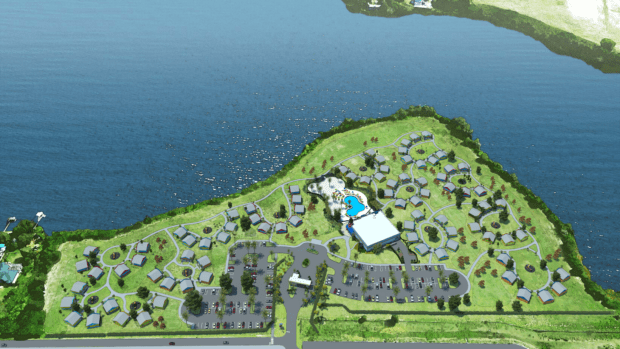 legoland beach retreat siteplan