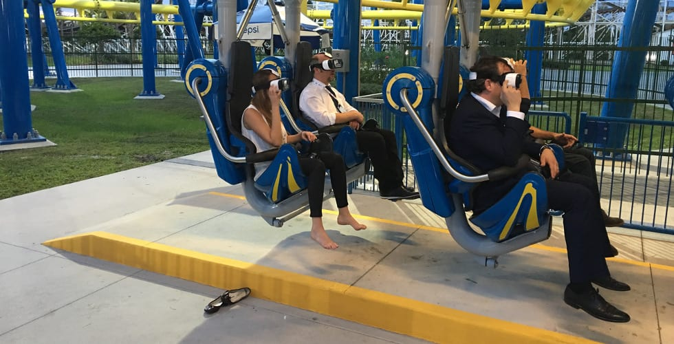 VR Coaster design