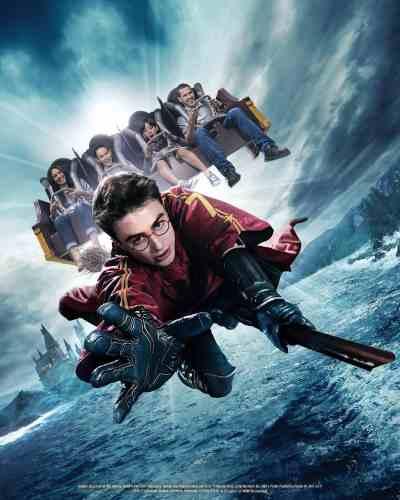 Universal Studios Hollywood Harry Potter Forbidden Journey 120 frames-per-second