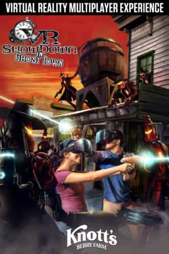 VR Showdown in Ghost Town Knott's Berry Farm