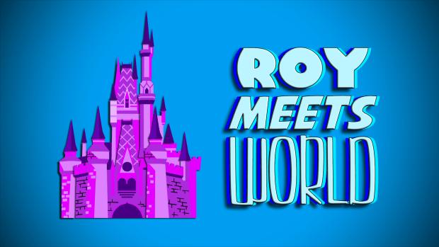 Roy Meets World logo