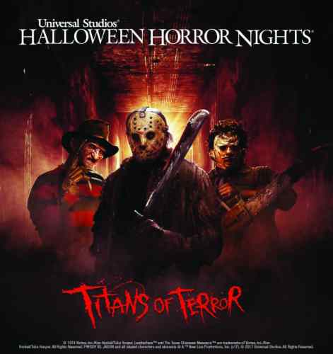 Titans of Terror Universal Studios Hollywood Halloween Horror Nights