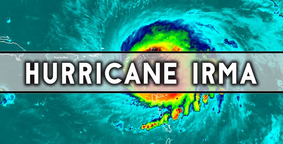 Hurricane Irma graphic