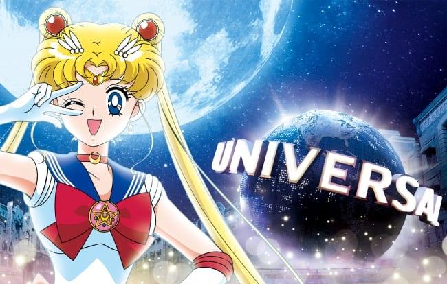 Sailor Moon 4-D Universal Studios Japan 2018