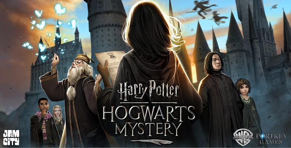 Harry Potter Hogwarts Myster mobile game