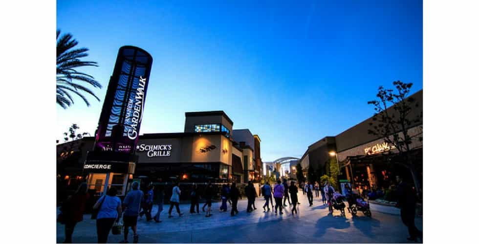 Anaheim Gardenwalk Announces New Amc Theatres Coming In 2019