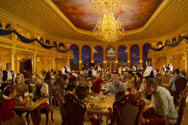 Guests Dine in Splendor at Be Our Guest Restaurant