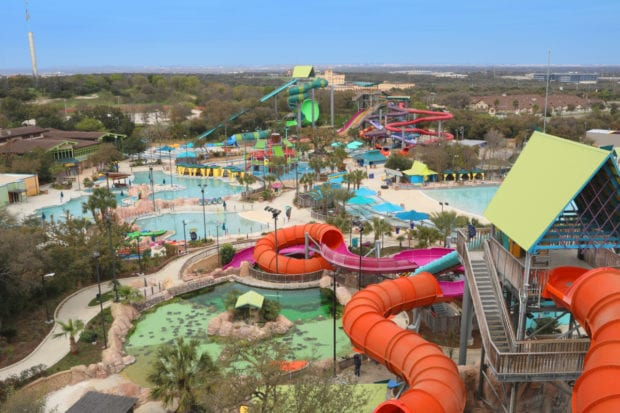Aquatica San Antonios Newest Slide Ihus Breakaway Falls