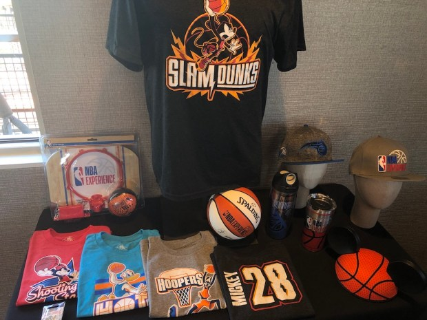NBA experience merch