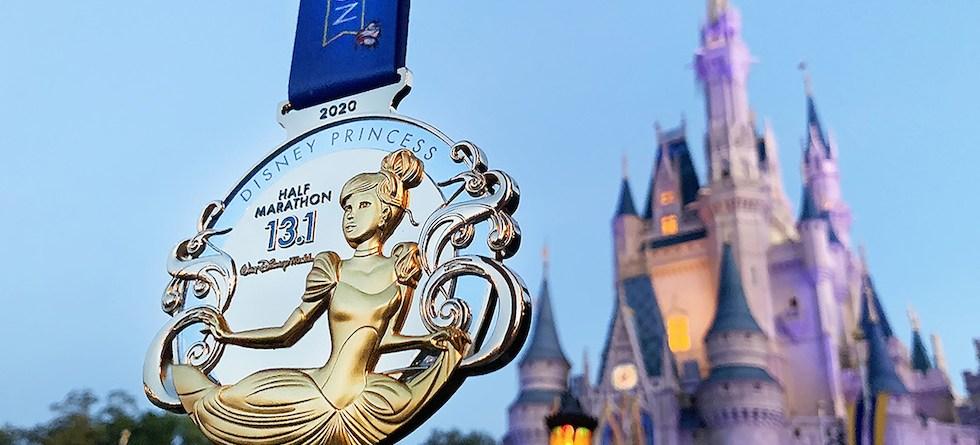 PHOTOS: 2020 Disney Princess Half Marathon medals revealed