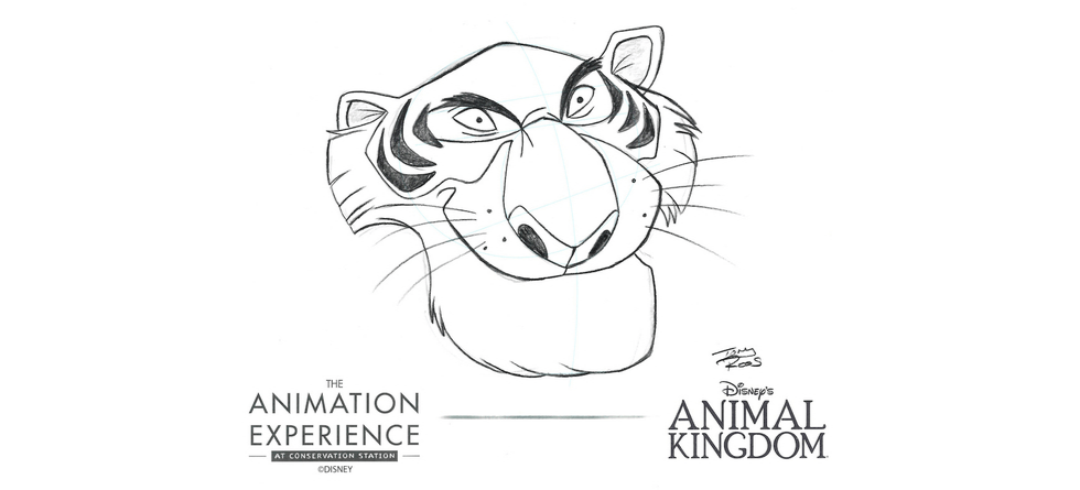 The Animation Experience at Conservation Station adding animal villain tutorials