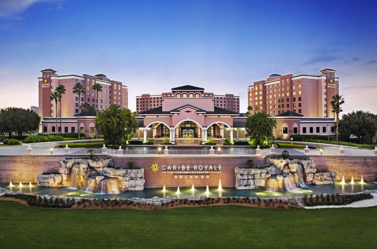 Caribe Royale Orlando, all-suite hotel
