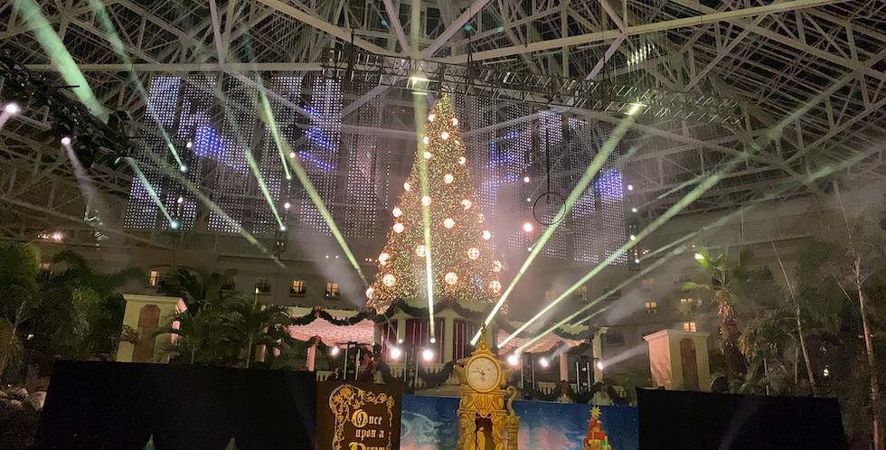 Gaylord palms christmas 202018