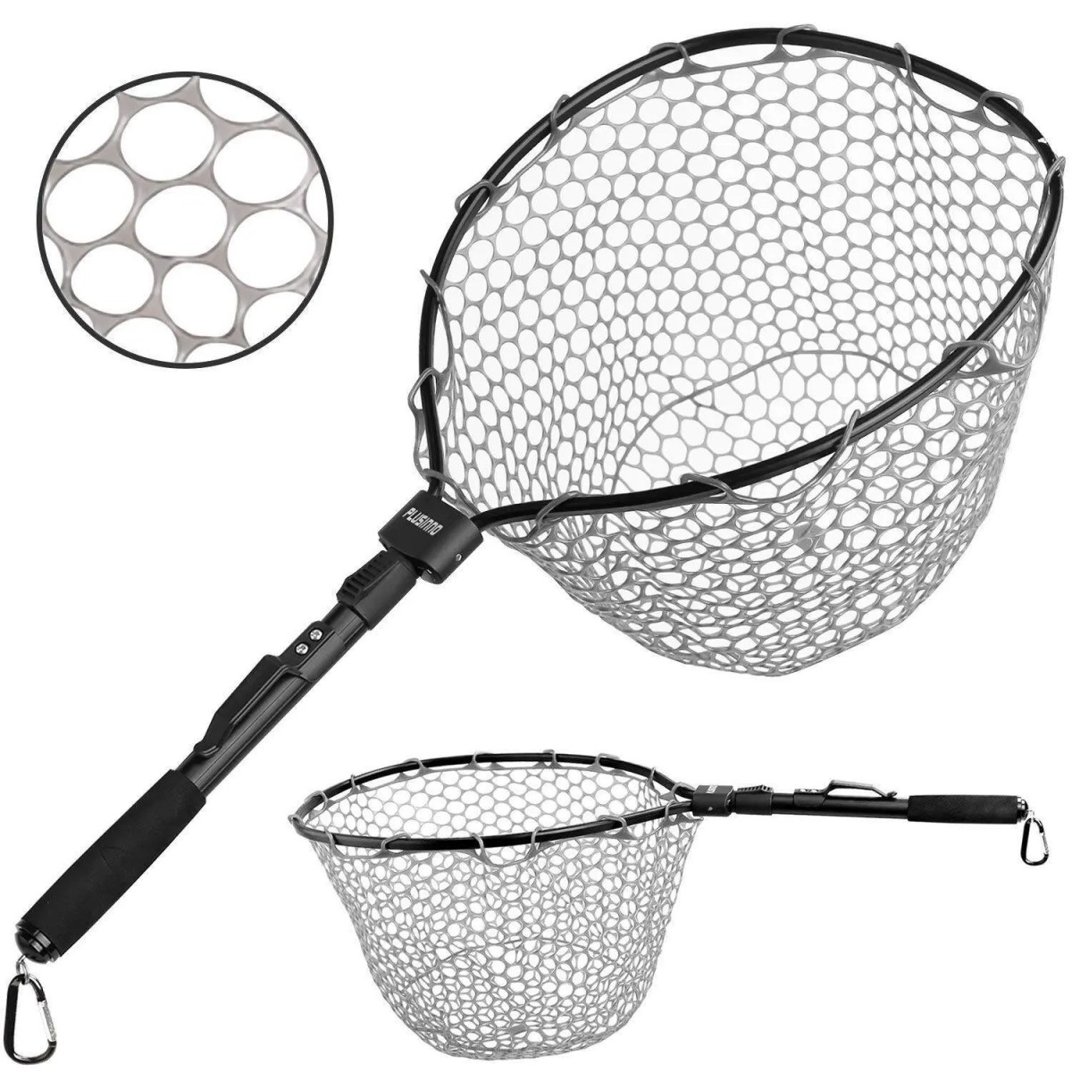 PLUSINNO Fly Fishing Net Fish Landing Net