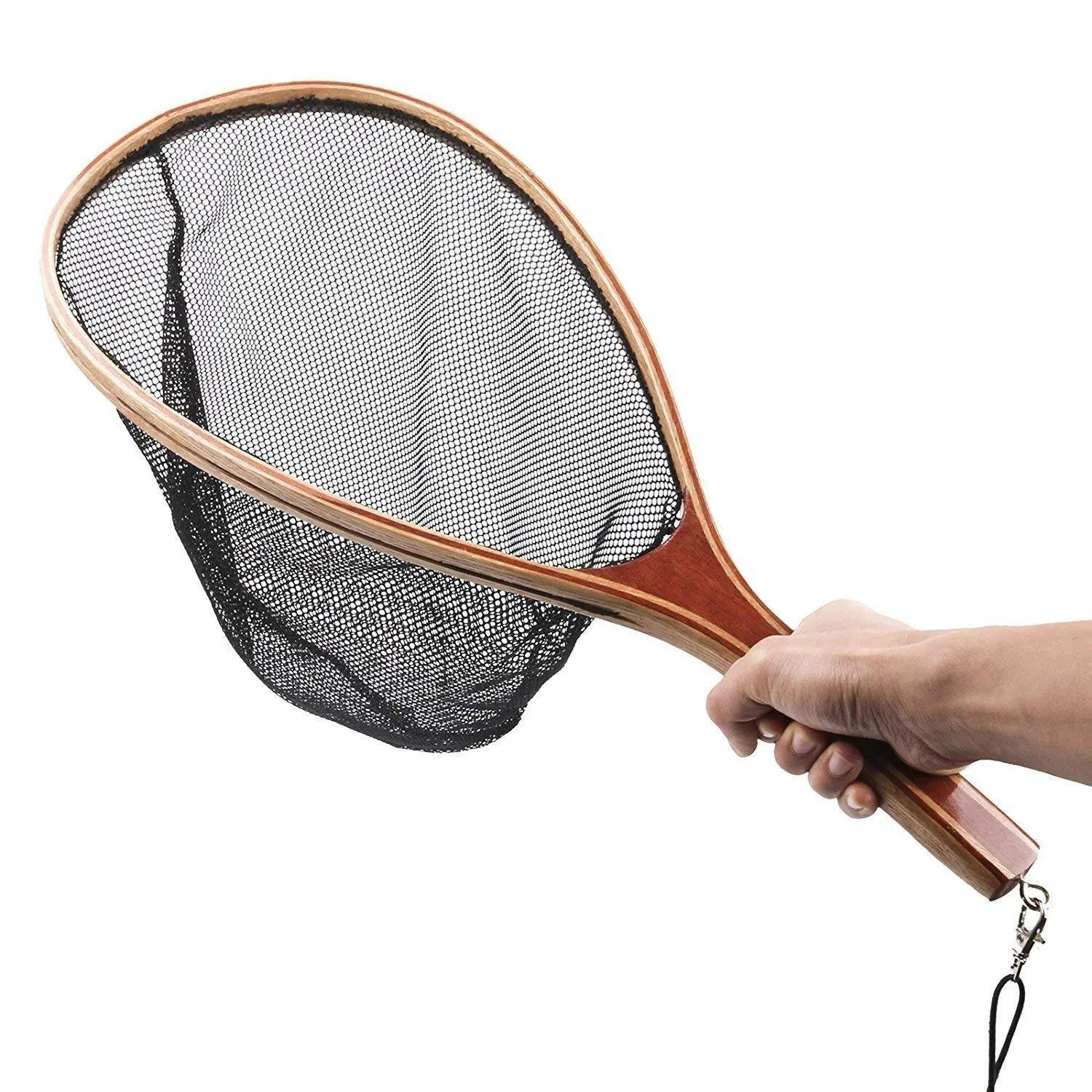 Isafish Landing Net Fly Fishing Trout Bass Net