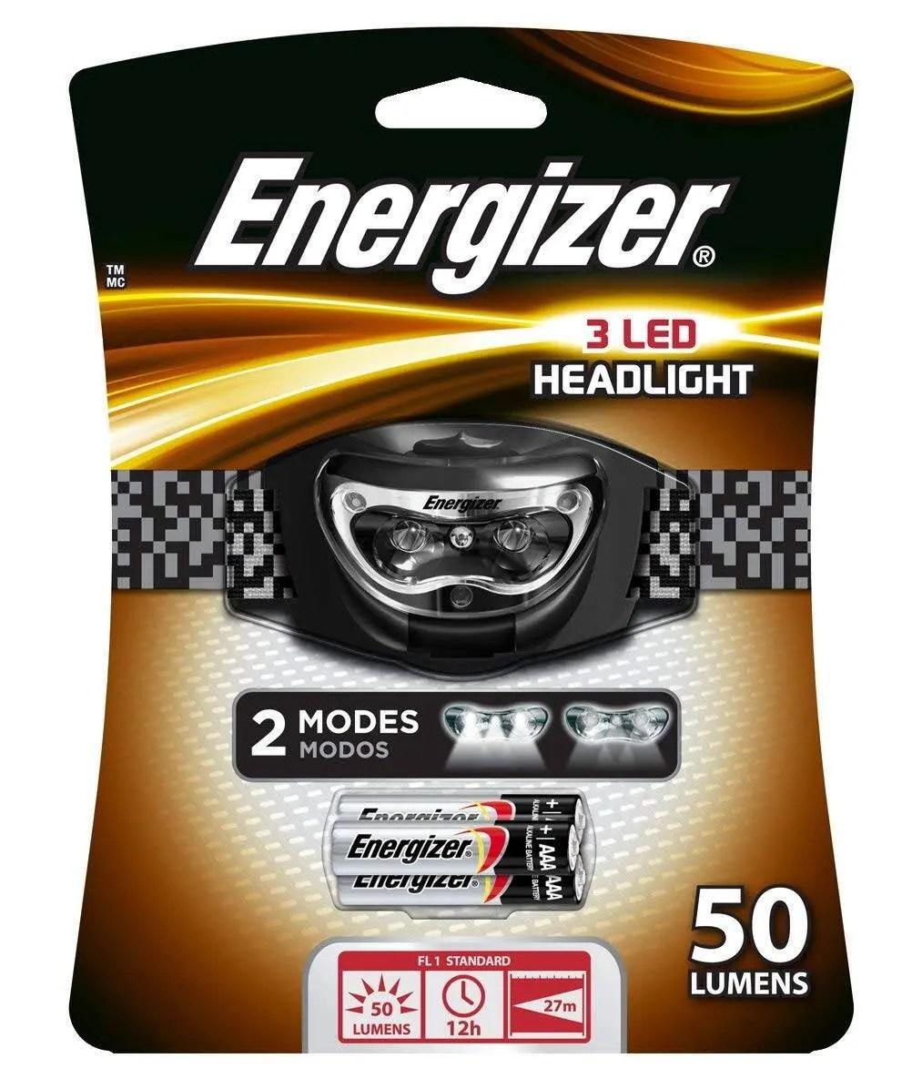 Energizer 3 LED Headlamp