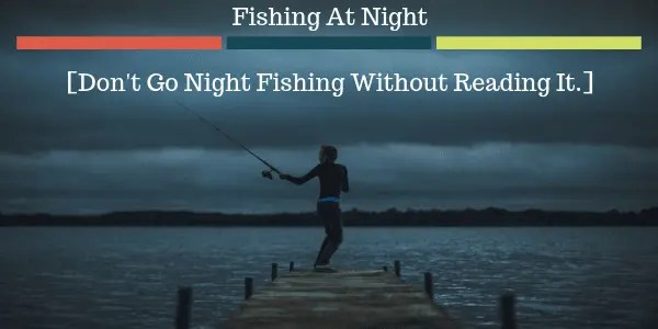 Fishing At Night