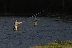 Freshwater fly fishing