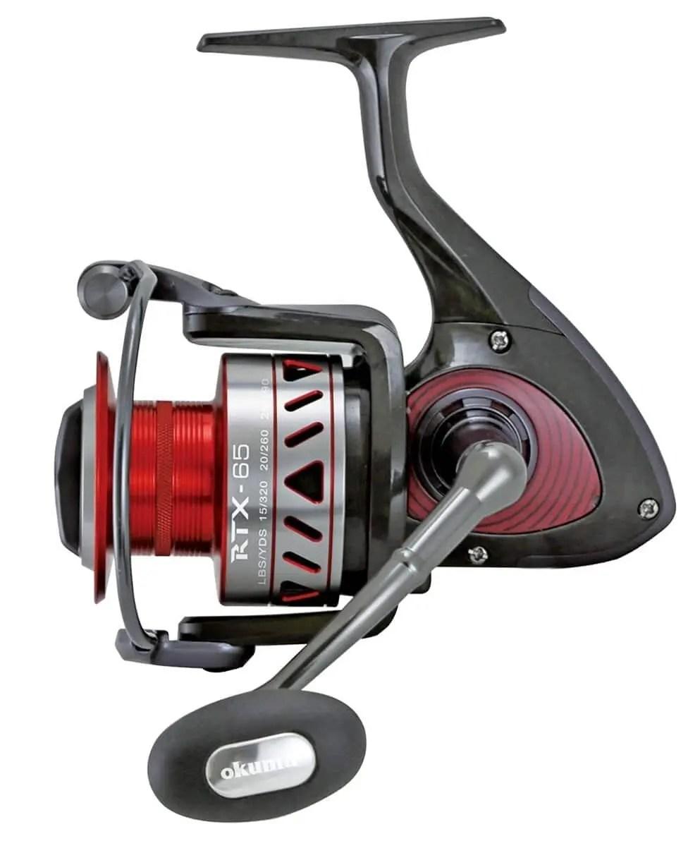 Okuma RTX Lightweight Carbon Frame High Speed Spinning Reel
