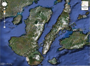 Map of Negros