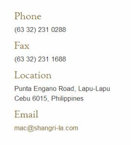 Shangri-La Info