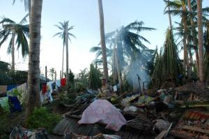 House Damage from Typhoon Yolanda 21