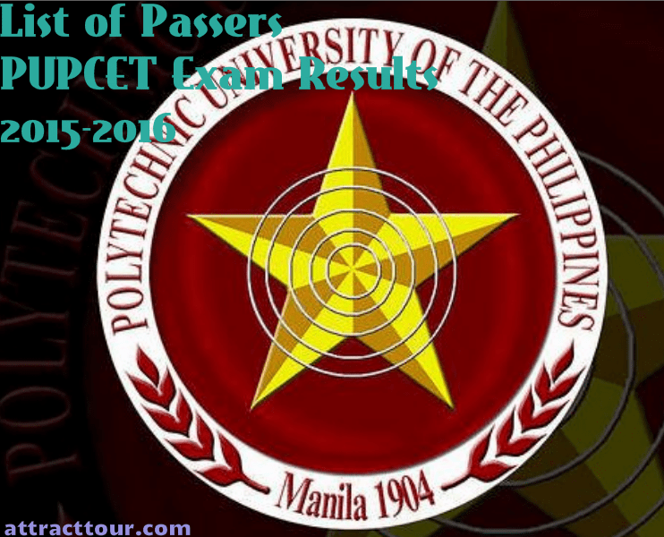 PUPCET Exam Results 2015