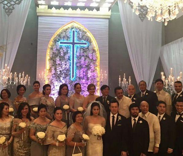 Toni Gonzaga and Paul Soriano Wed