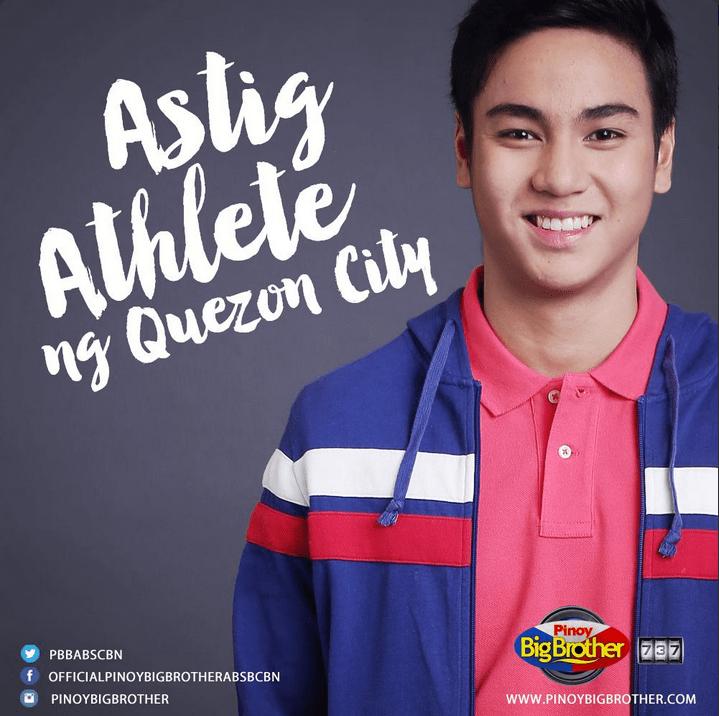 268c82497 Kenzo Gutierrez (Astig Athlete of Quezon City) 7th PBB 737 Housemate ...
