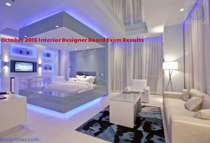 Oct 2015 Interior Designer Board Exam Results